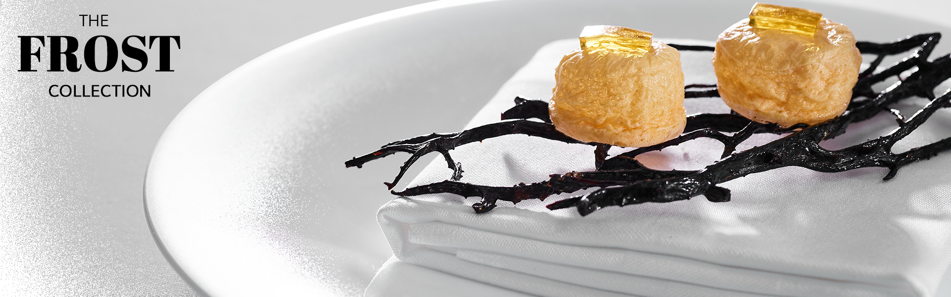 snipe frost tableware with food