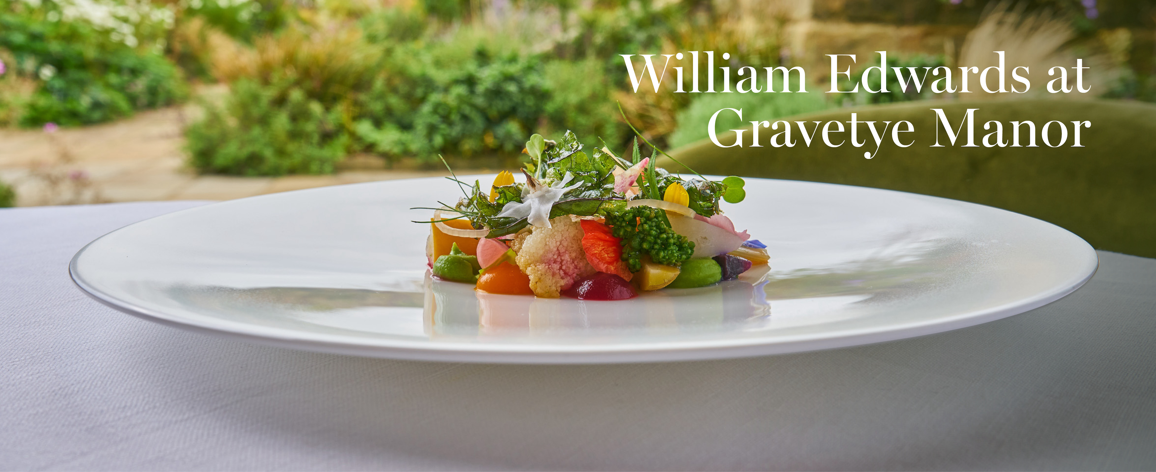 Bespoke Bone China Plate With Vegetables