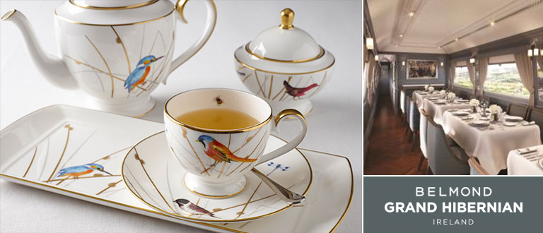 Belmond Grand Hiberbian china tableware