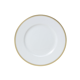 Burnished Gold 22cm Plate