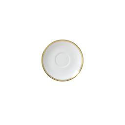 Burnished Gold Espresso Saucer