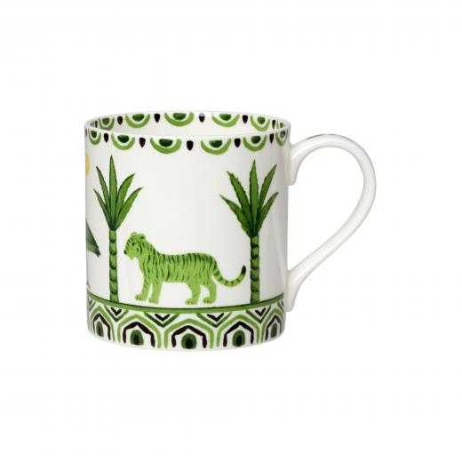 Sultan's Garden Mug (Tiger Pattern)