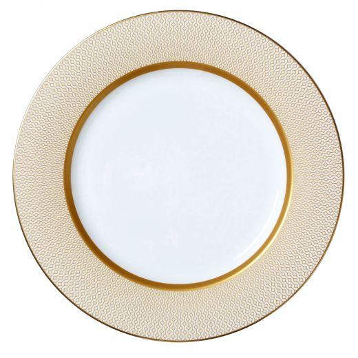 Diamond 30cm Plate Full Gold