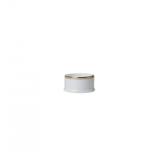 Burnished Gold Condiment Pot
