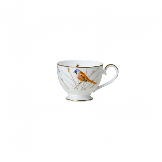 Reed Footed Tea Cup