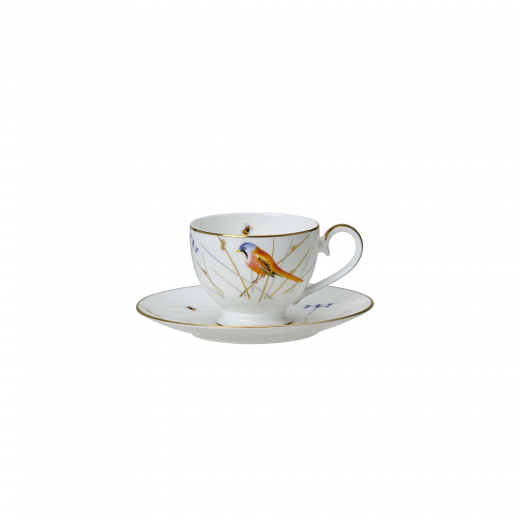 Reed Tea Cup And Saucer