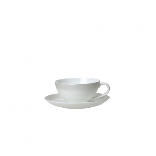 Snipe Frost Tea Cup And Saucer