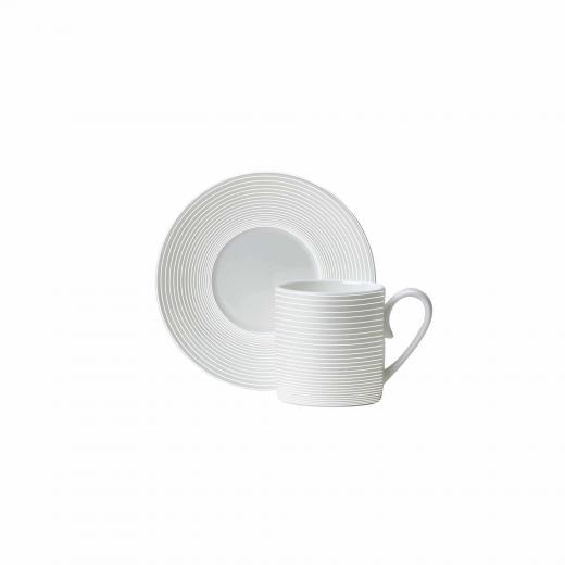 Spiro Espresso Cup And Saucer