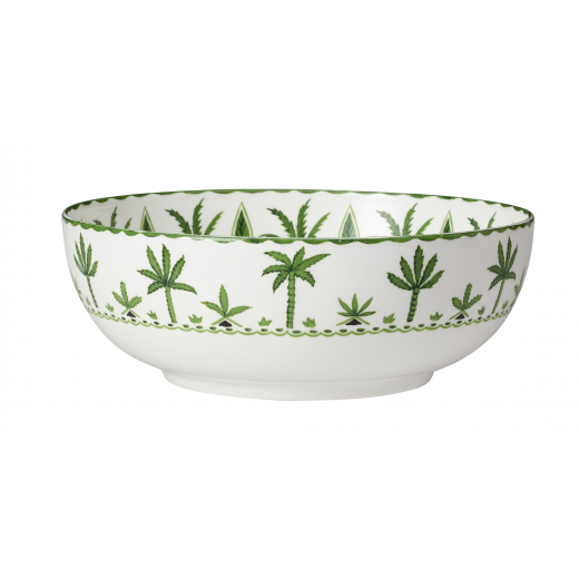 Sultan's Garden Serving Bowl (23cm) Side View