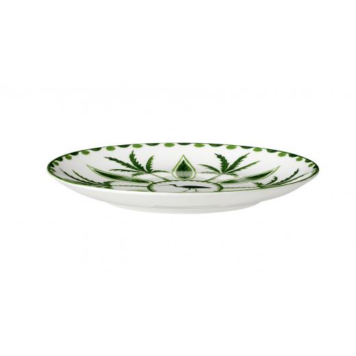 Sultan's Garden 16.5cm Plate (Full Pattern) Side View