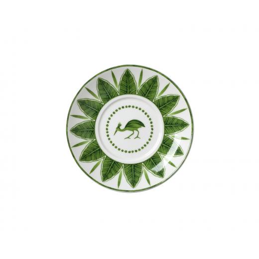 Sultan's Garden Espresso Saucer (Bird Pattern)