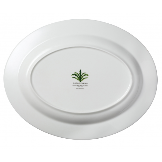 Sultan's Garden Oval Platter Backstamp