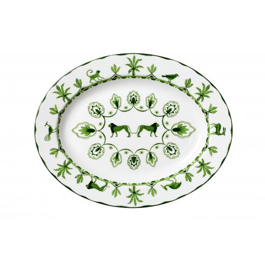 Sultan's Garden Oval Platter